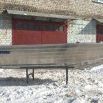 алюминиевая лодка Верта 440
