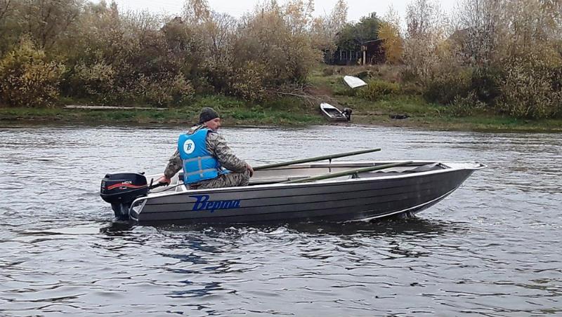 алюминиевая лодка Верта 400