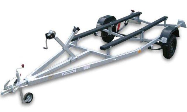 Прицеп металлический для лодки до 5,5 м.